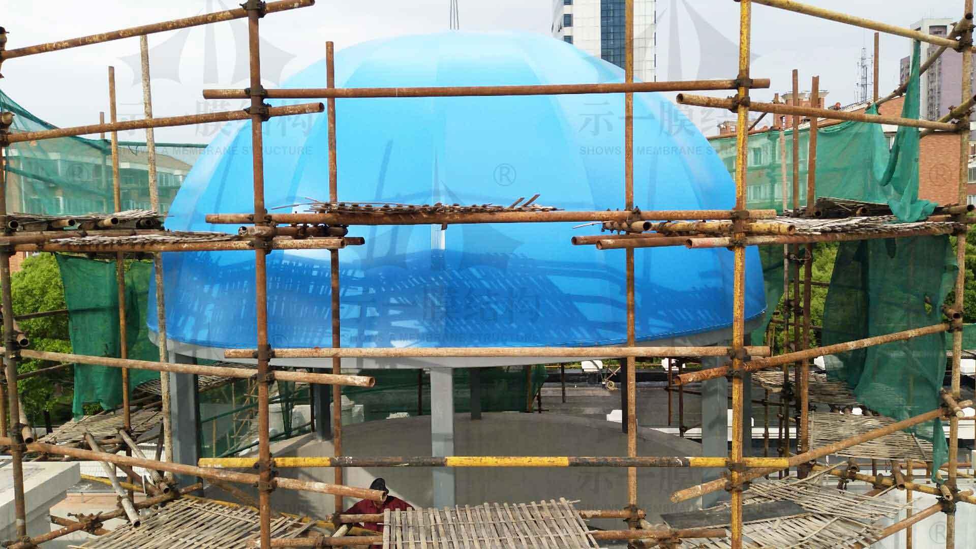 上海示一膜结构金山幼儿园张拉膜结构