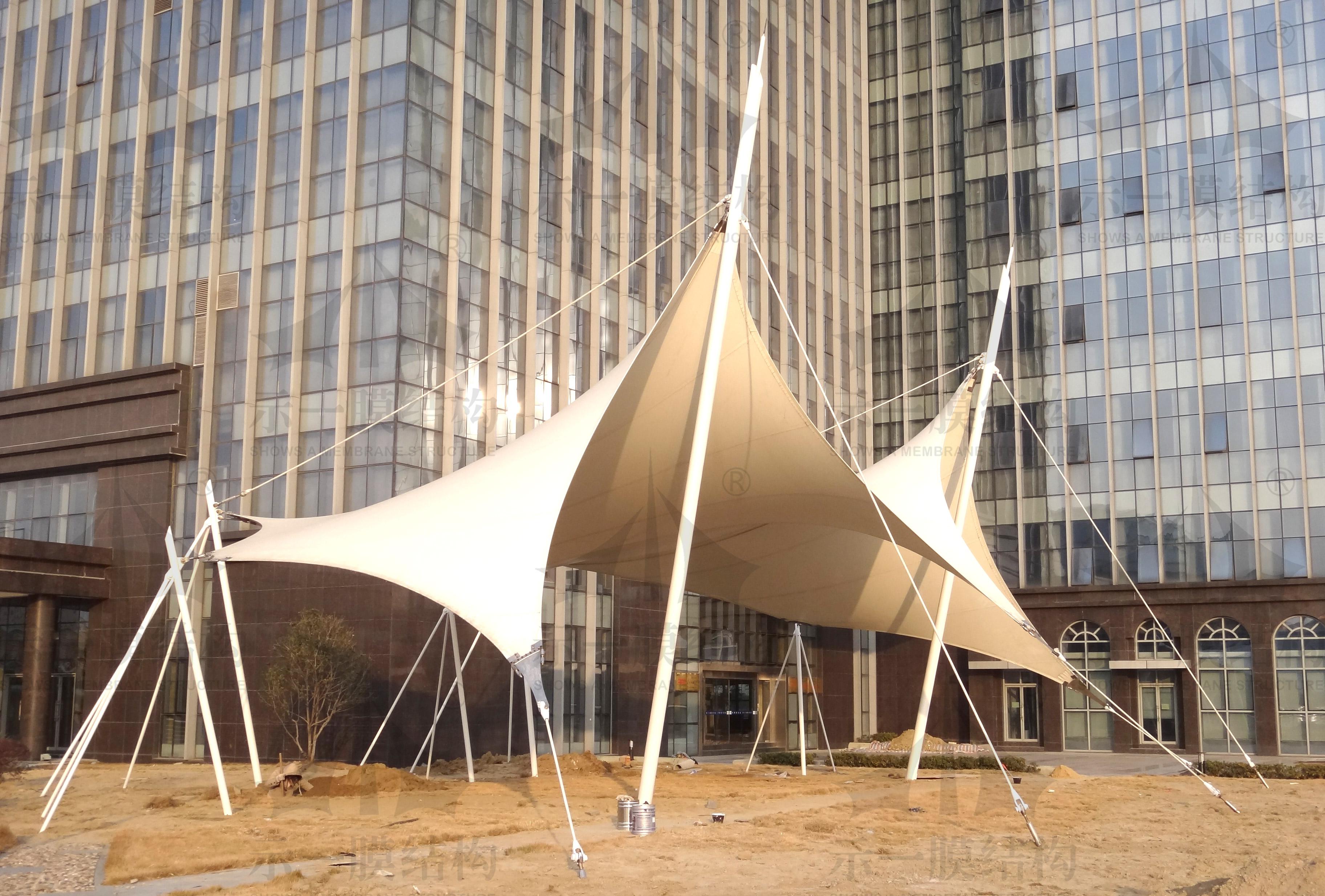 上海示一膜结构扬子江药业集团张拉膜结构