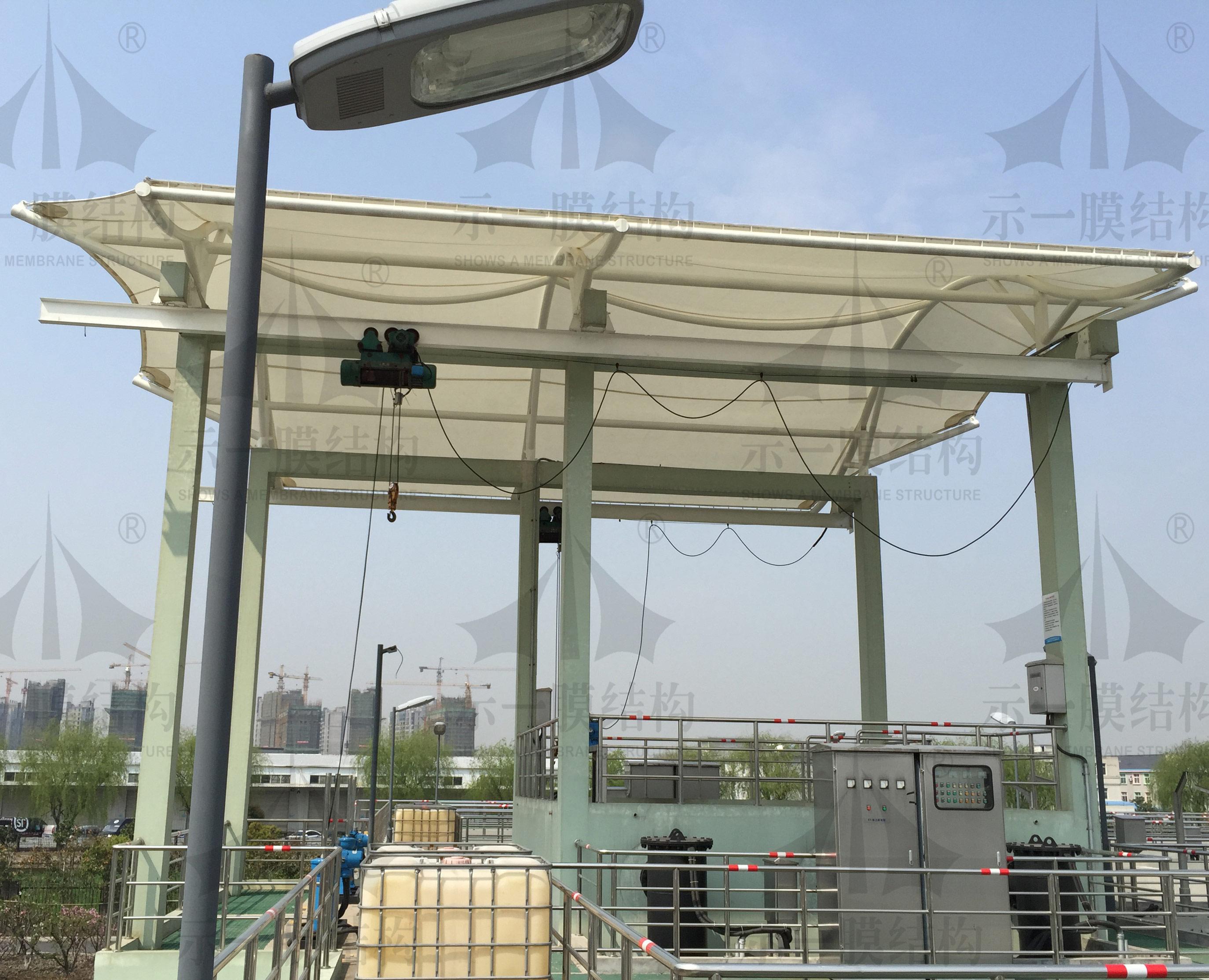 上海示一膜结构徐泾城投污水处理厂膜结构