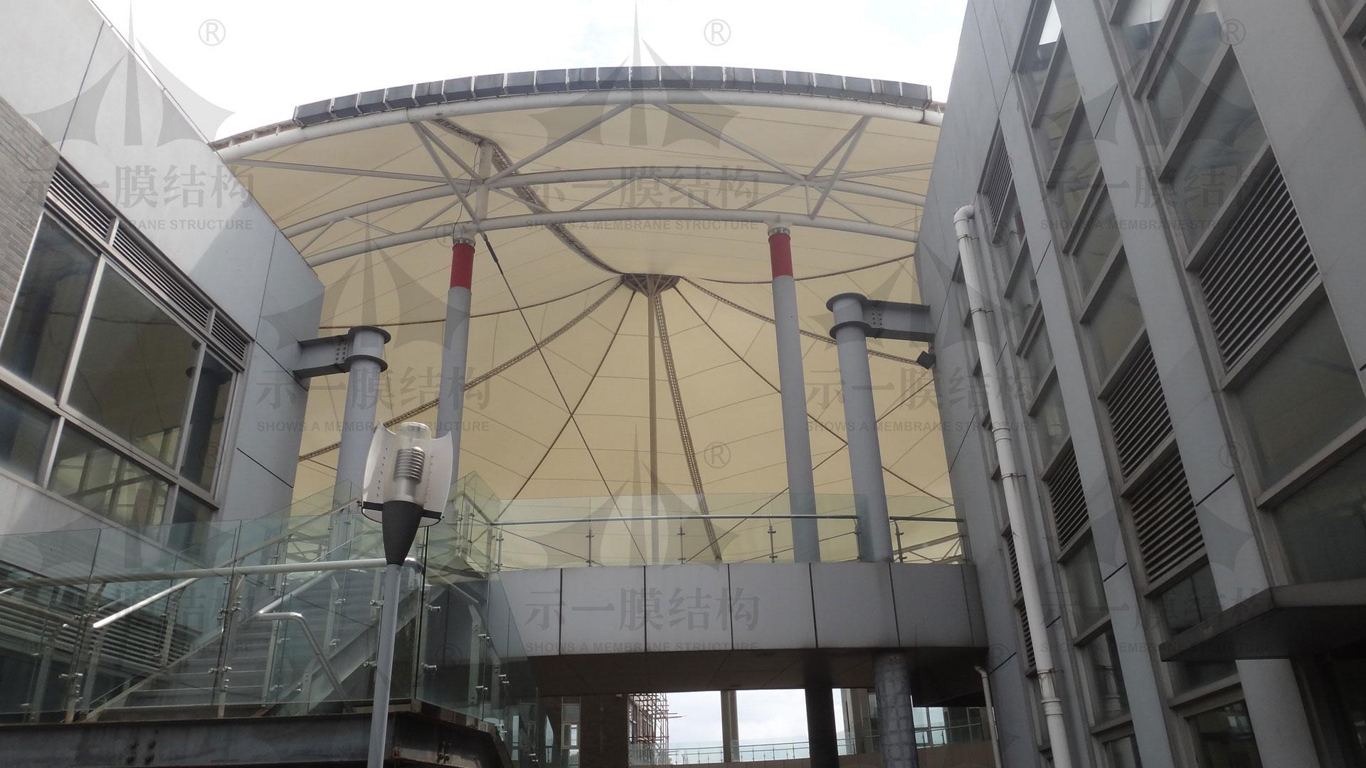 上海示一膜结构上海嘉定膜结构雨棚PTFE