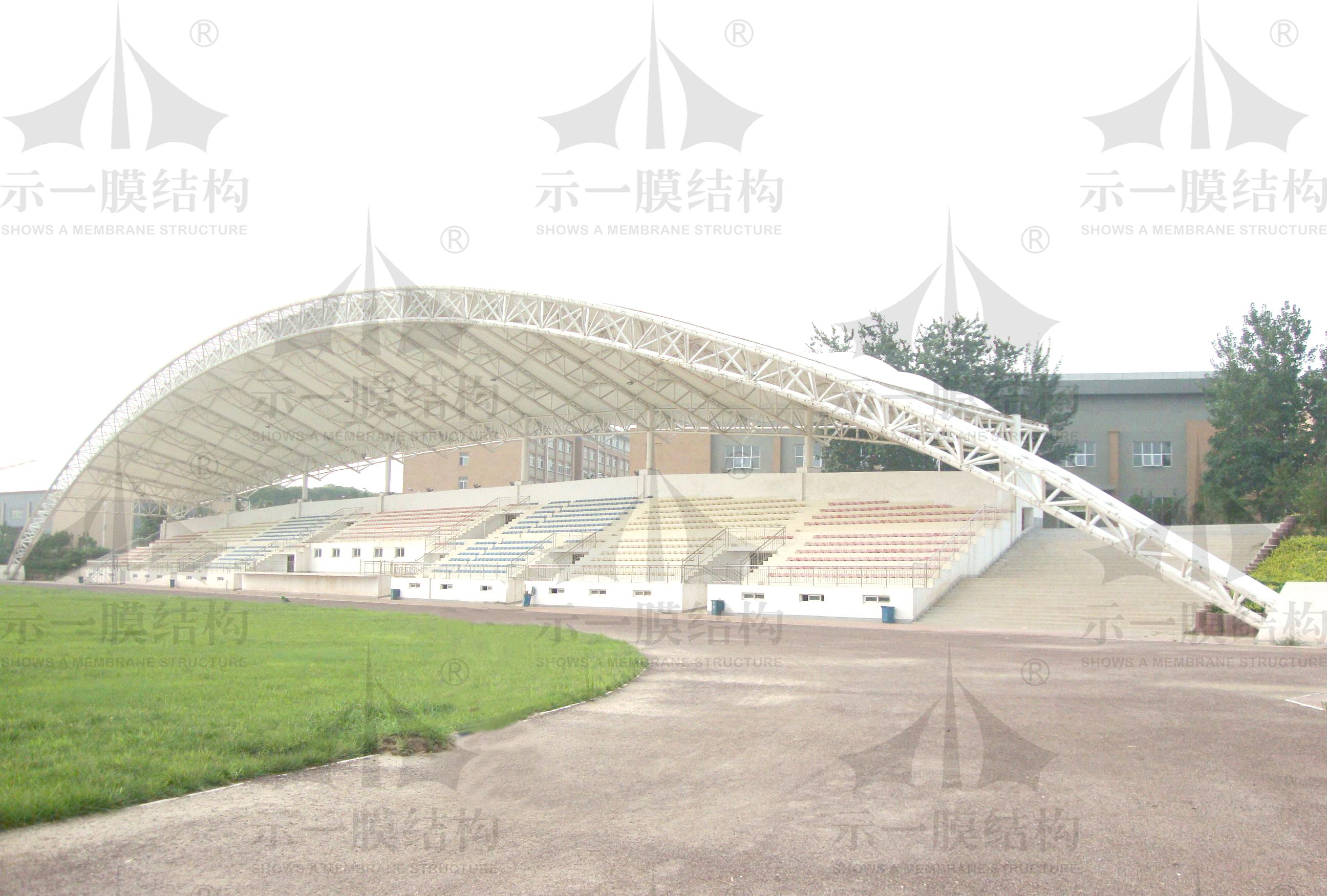 上海示一膜结构体育看台膜结构