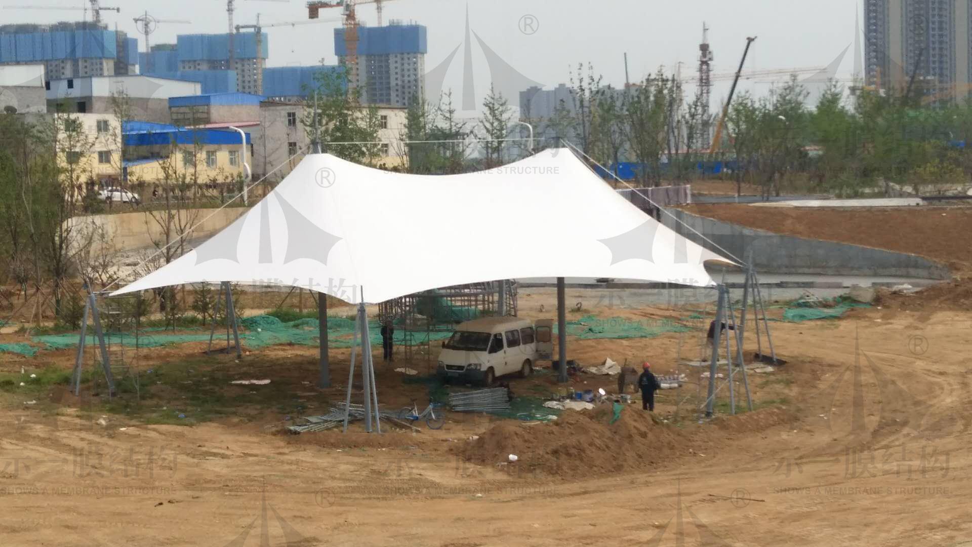 上海示一膜结构有限公司上半年工程分享